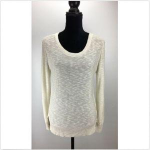 14th & Union Petite Large PL Open Back Sweater